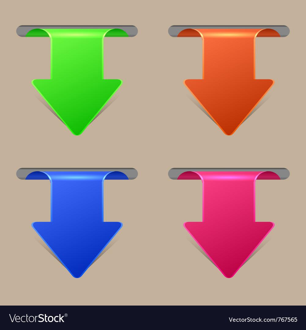 Arrow banners vector   Price: 1 Credit (USD $1)