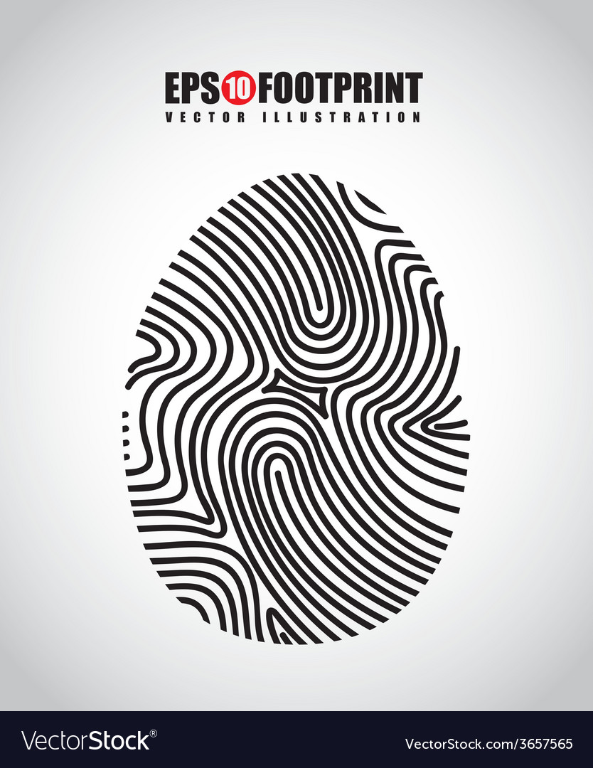 Finger print design vector   Price: 1 Credit (USD $1)