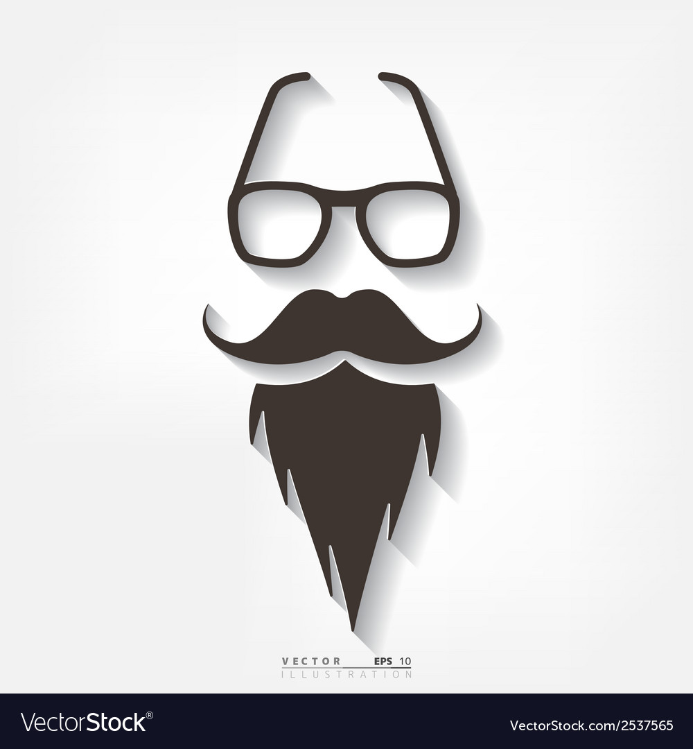 Hipster background retro style vector | Price: 1 Credit (USD $1)