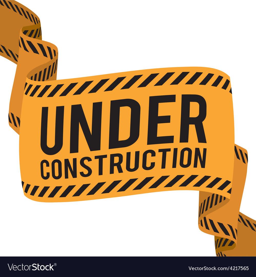 Under construction design vector | Price: 1 Credit (USD $1)