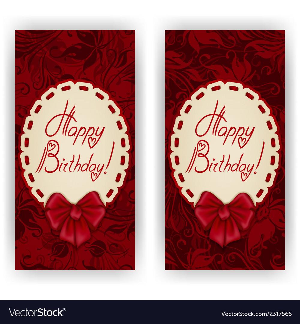 Elegant template for invitation card vector   Price: 1 Credit (USD $1)