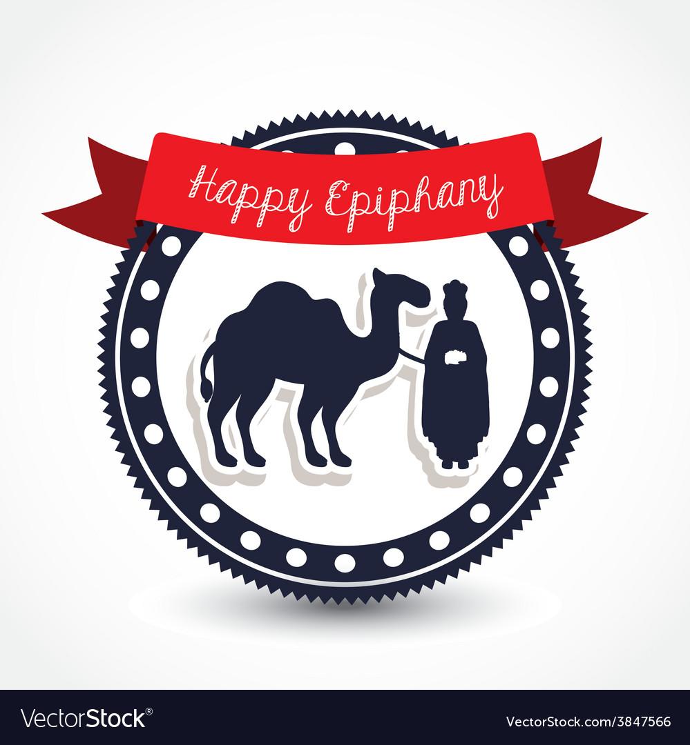 Happy epiphany design vector | Price: 1 Credit (USD $1)