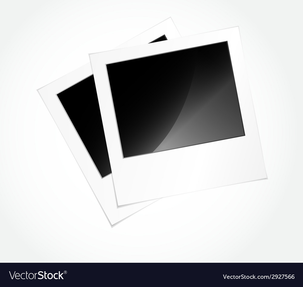 Photo frames in art vector | Price: 1 Credit (USD $1)