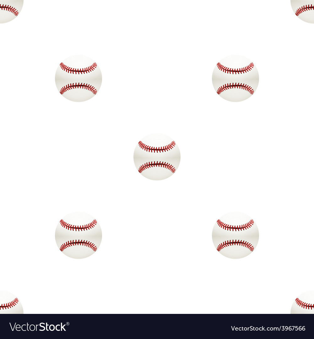 Universal baseball seamless patterns tiling vector | Price: 1 Credit (USD $1)