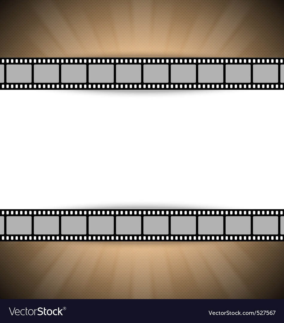 Film strip template vector | Price: 1 Credit (USD $1)