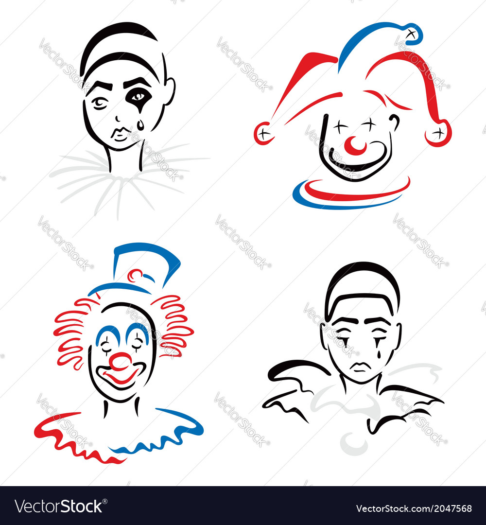 Circus artists vector | Price: 1 Credit (USD $1)