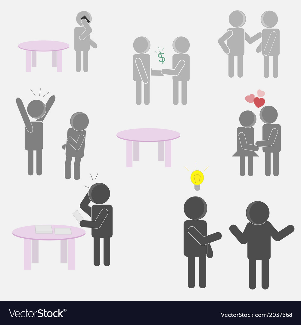 Conversation vector | Price: 1 Credit (USD $1)