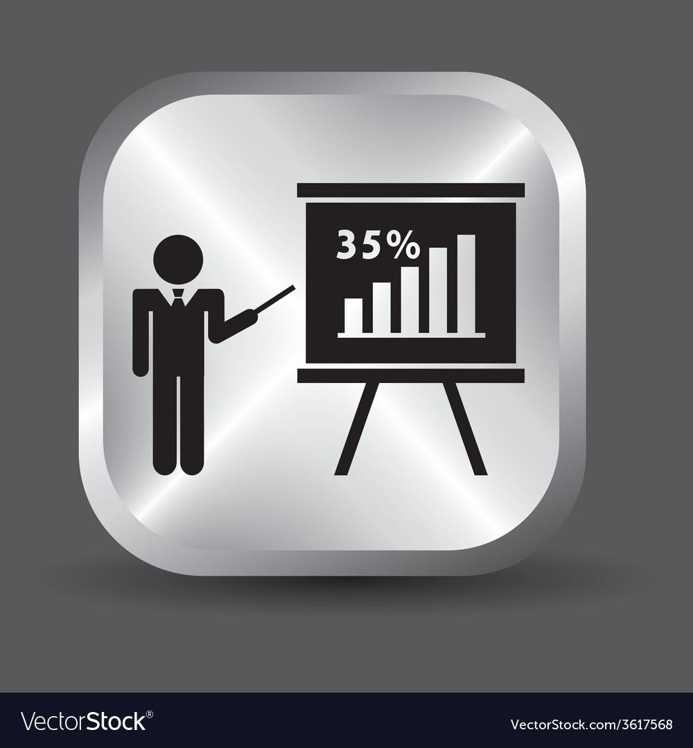 Training icon vector | Price: 1 Credit (USD $1)