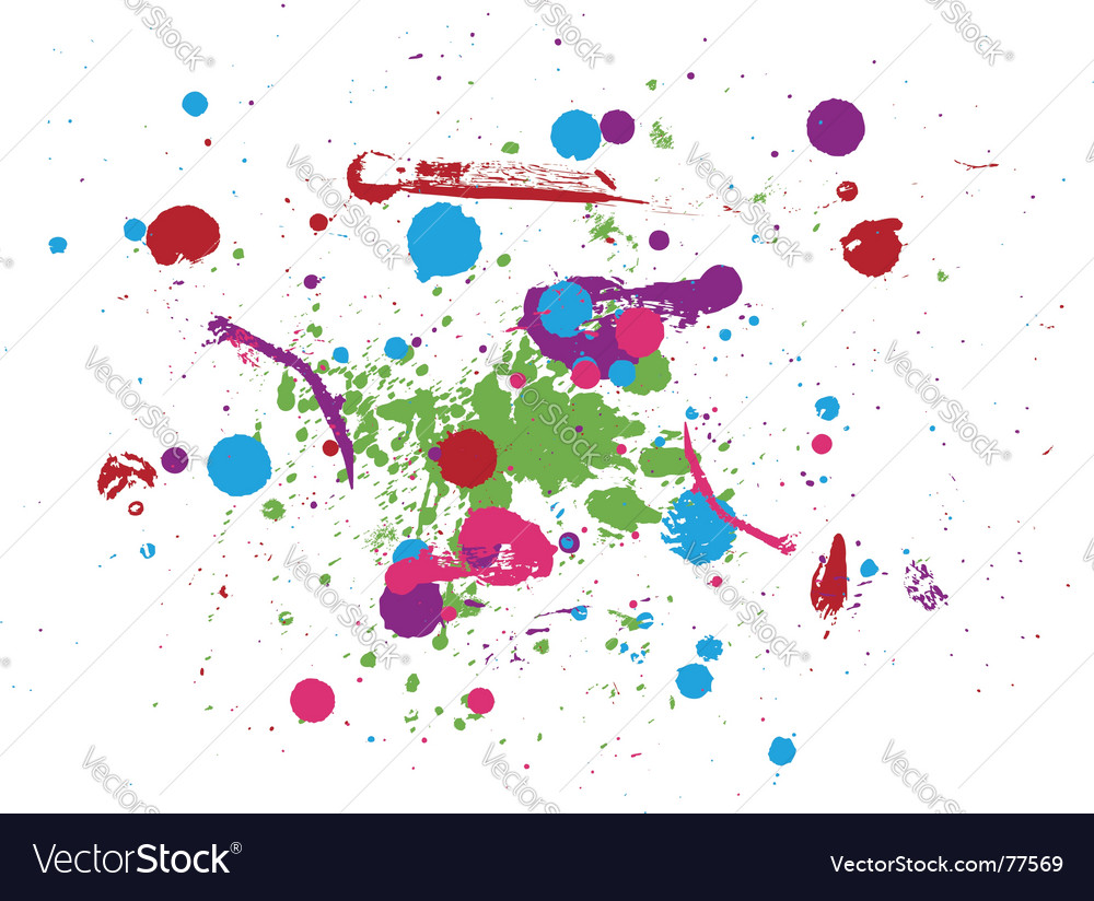 Drops of paint vector | Price: 1 Credit (USD $1)