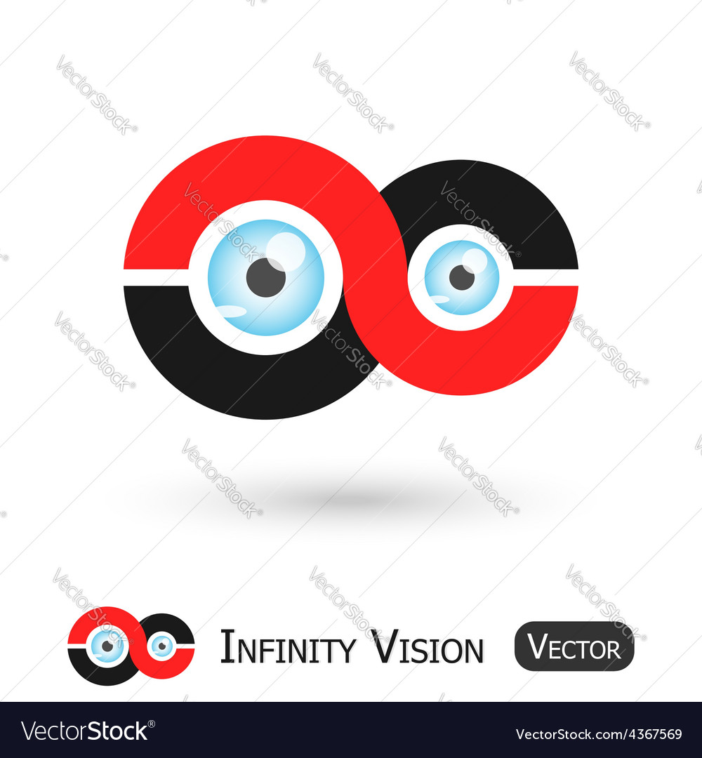 Infinity vision vector | Price: 1 Credit (USD $1)