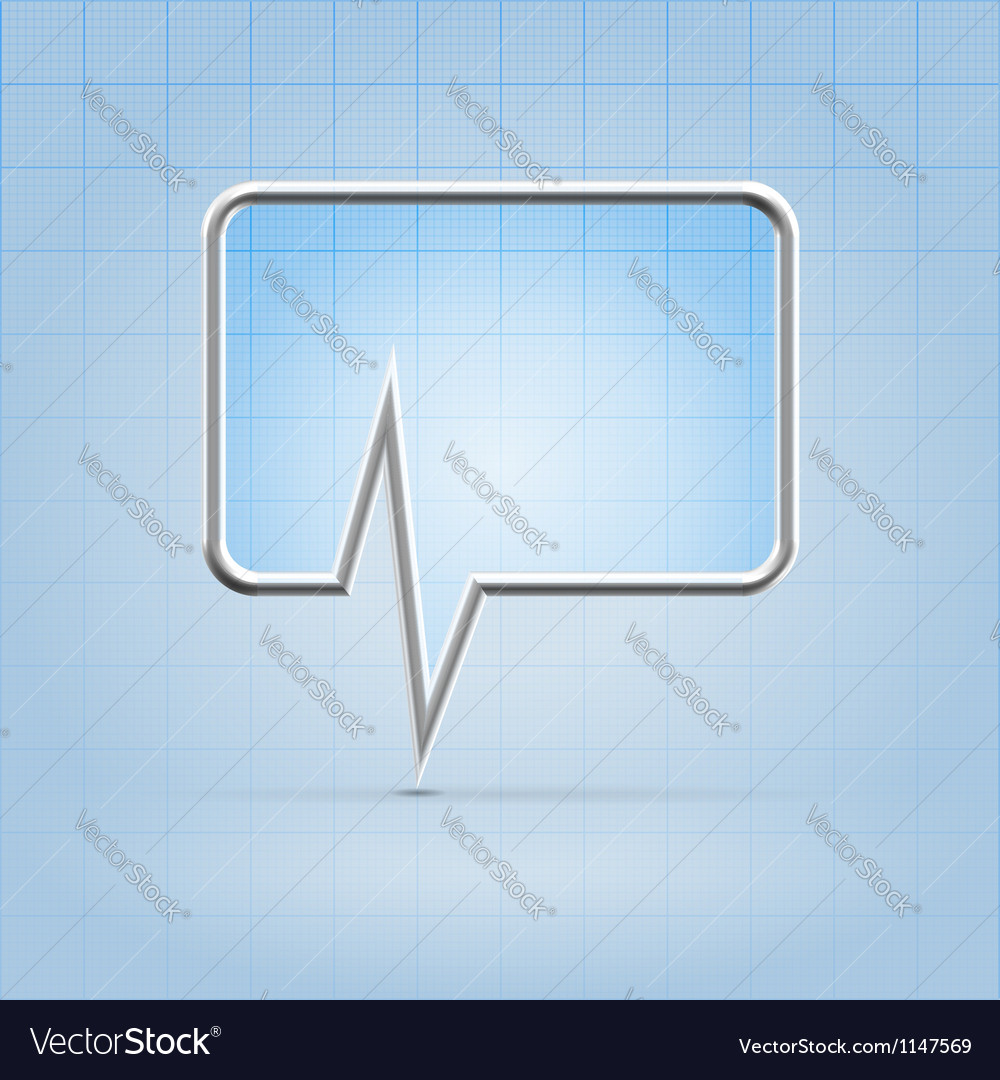 Medical forum application icon vector | Price:  Credit (USD $)