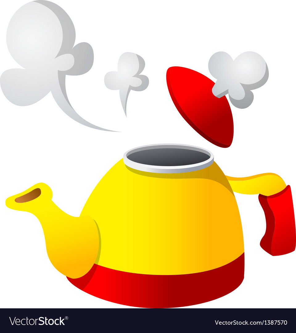 Icon kettle vector | Price: 1 Credit (USD $1)
