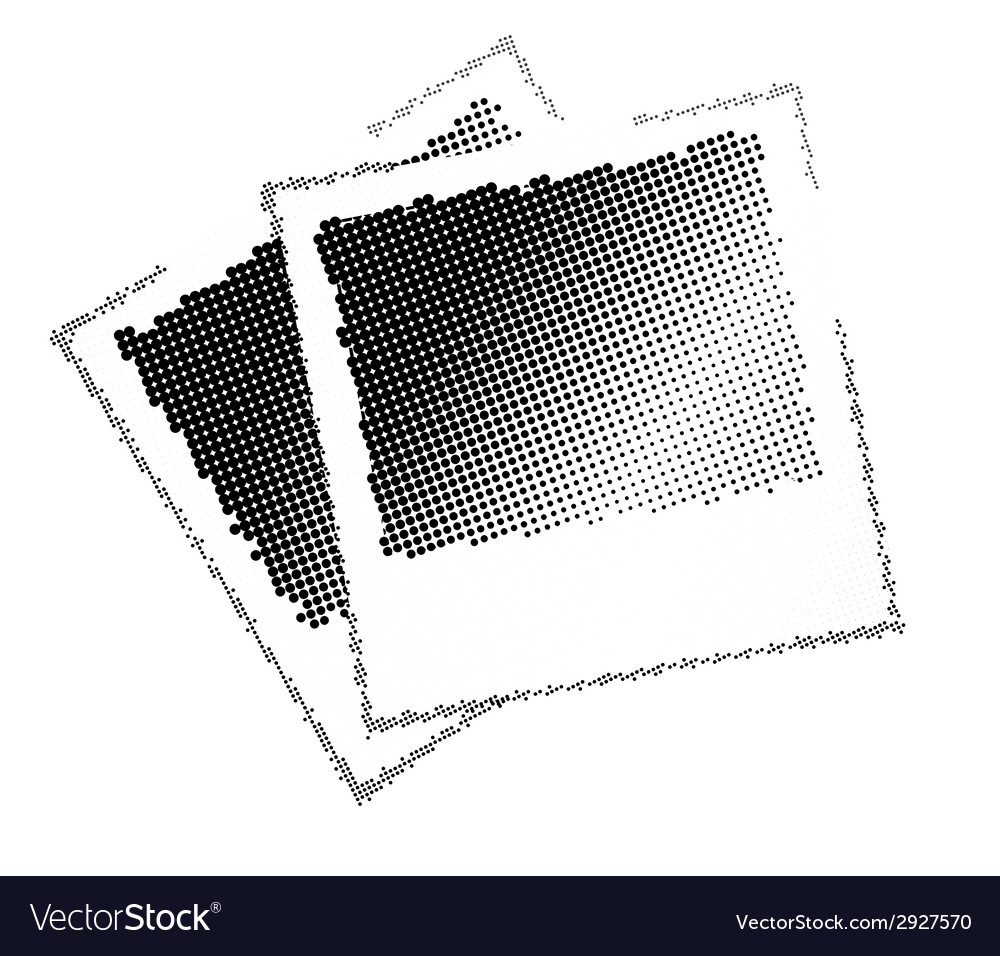 Two image with black dots vector | Price: 1 Credit (USD $1)