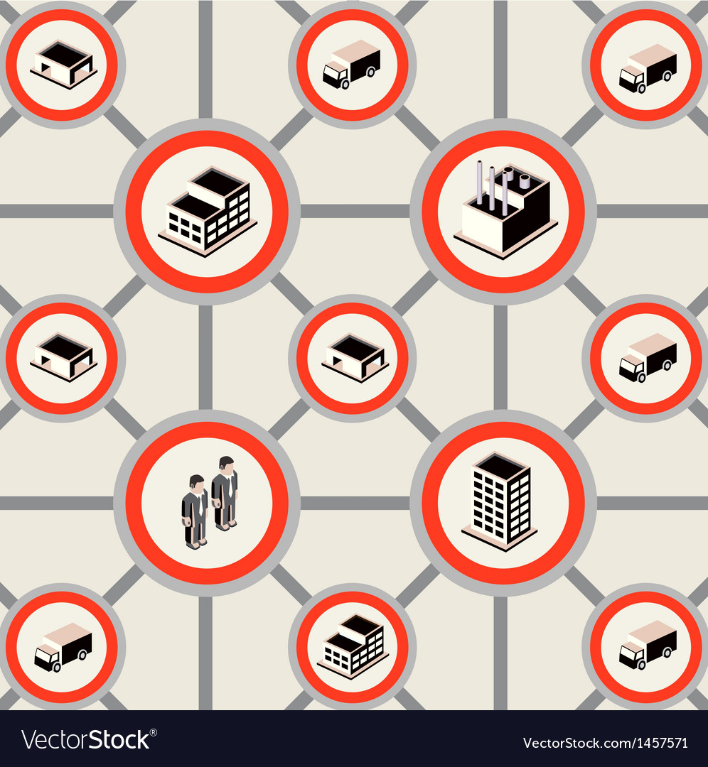 Industrial buildings vector   Price: 1 Credit (USD $1)