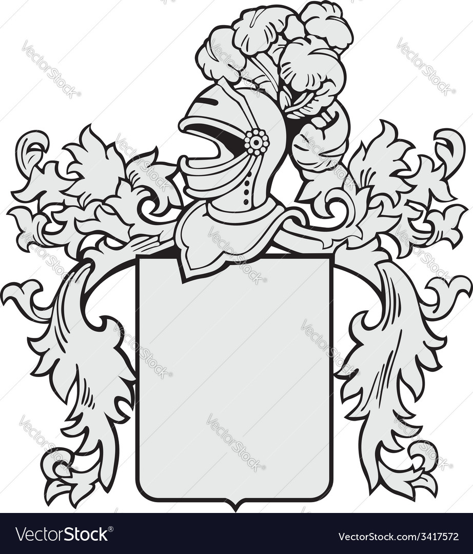 Aristocratic emblem no1 vector | Price: 1 Credit (USD $1)