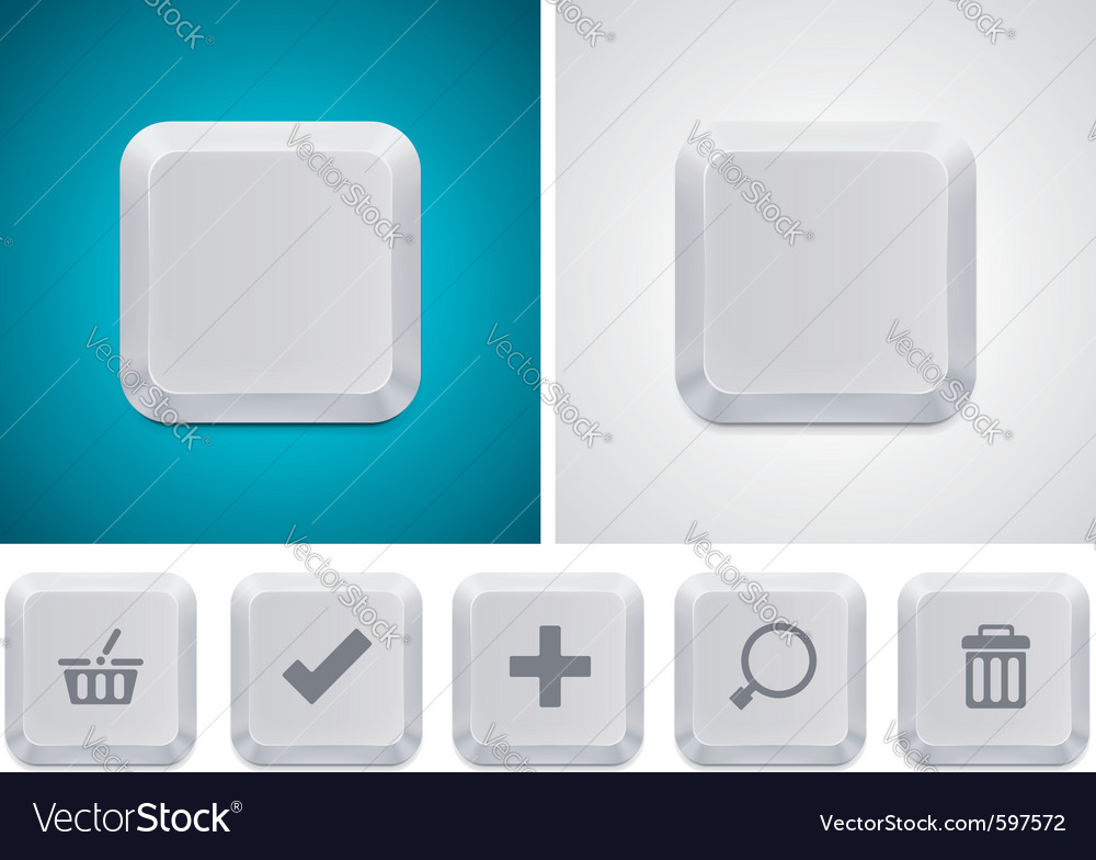 Computer keyboard vector | Price: 3 Credit (USD $3)