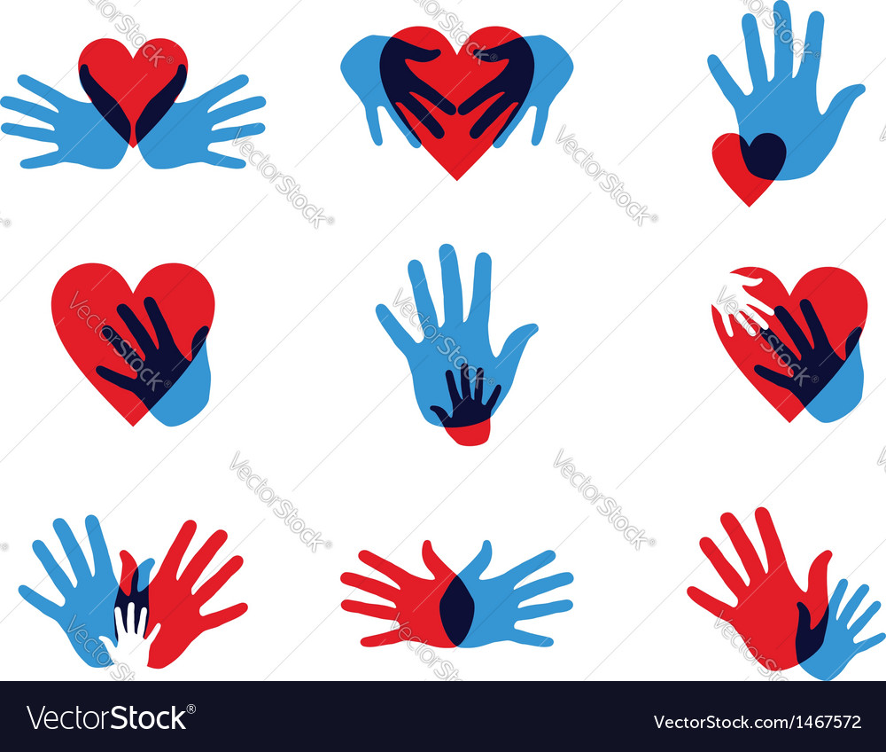 Multicolor diversity hands icons vector   Price: 1 Credit (USD $1)