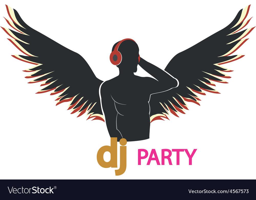 Dj party vector | Price: 1 Credit (USD $1)