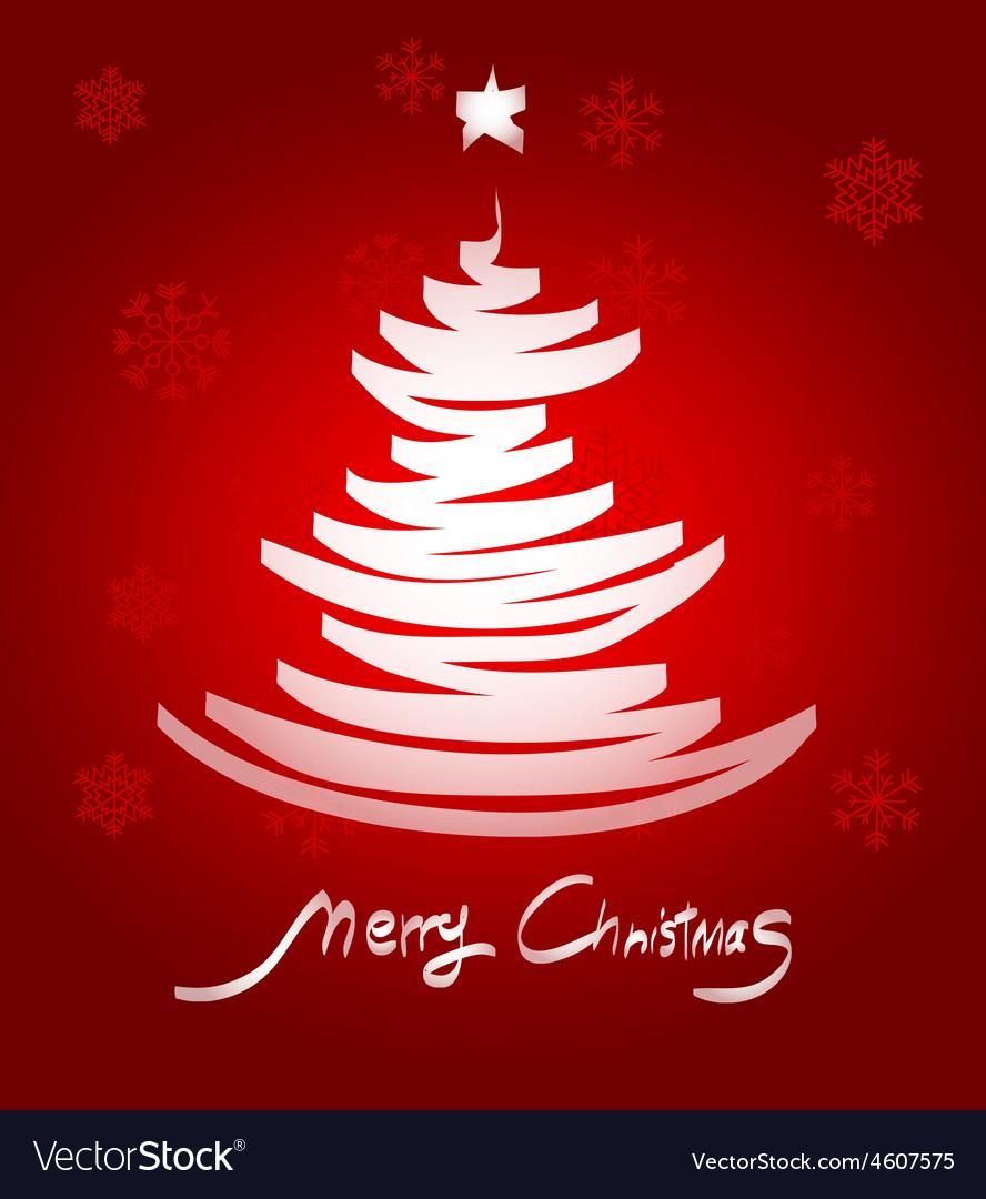 Christmas tree4 vector