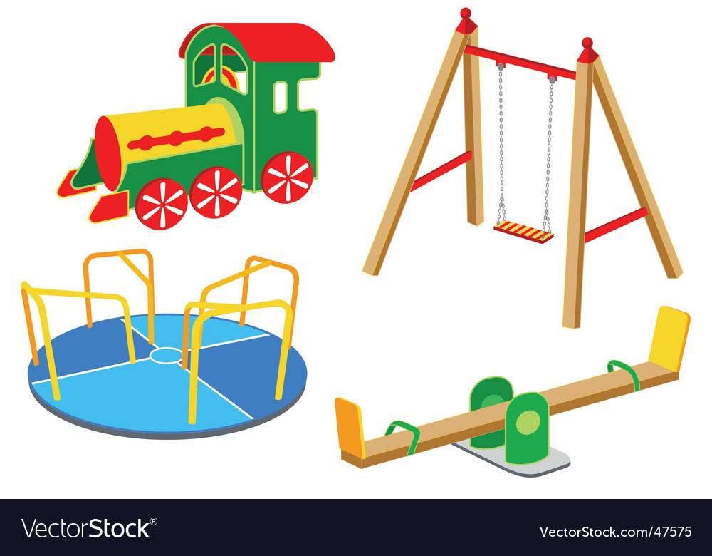 Playground equipment vector | Price: 1 Credit (USD $1)