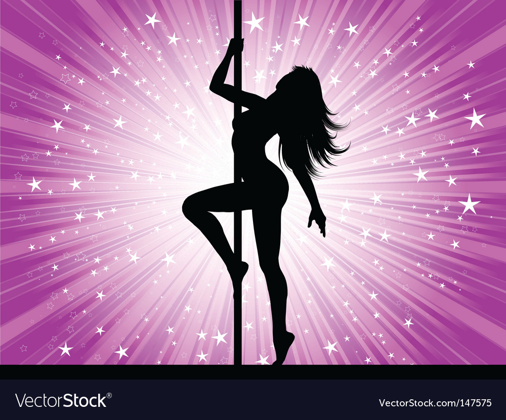Sexy pole dancer vector | Price: 1 Credit (USD $1)