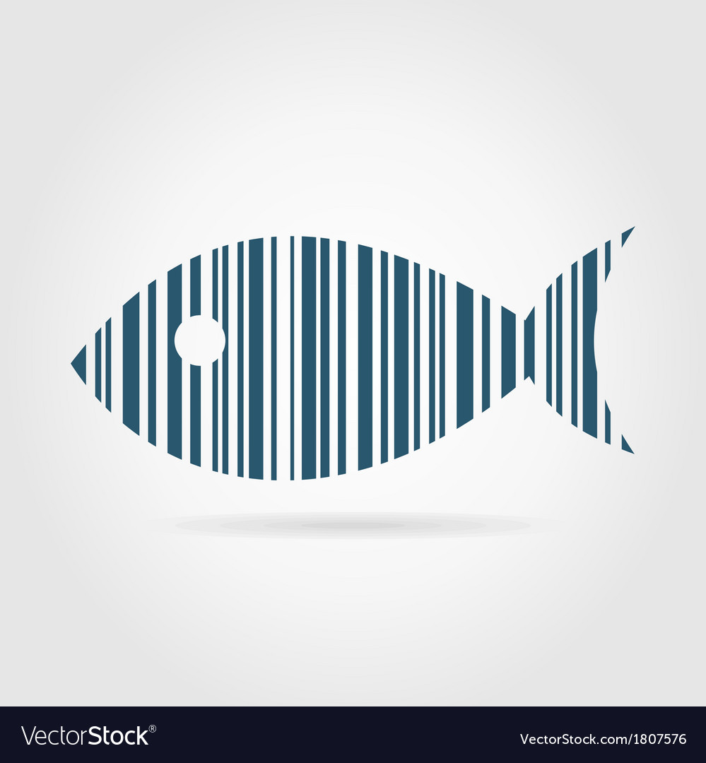 Abstract fish2 vector | Price: 1 Credit (USD $1)