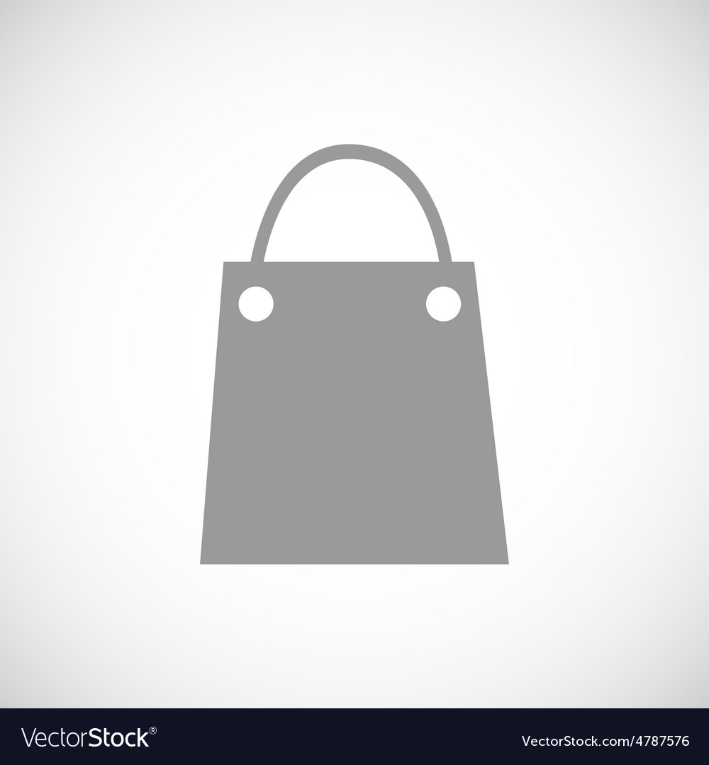 Shopping bag icon vector   Price: 1 Credit (USD $1)