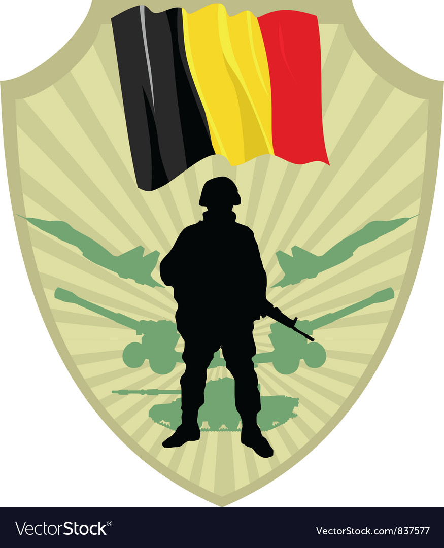Army of belgium vector | Price: 1 Credit (USD $1)