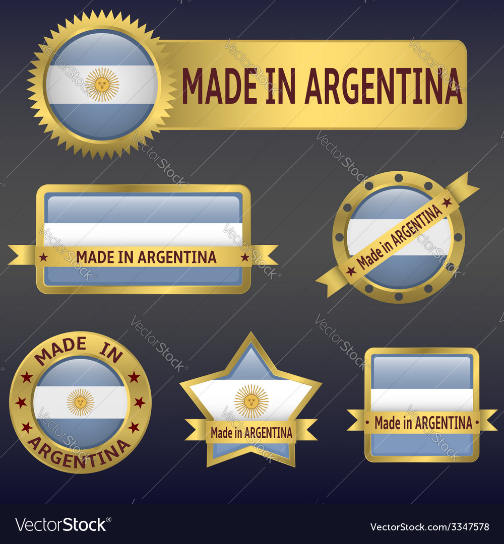 Made in argentina vector | Price: 3 Credit (USD $3)