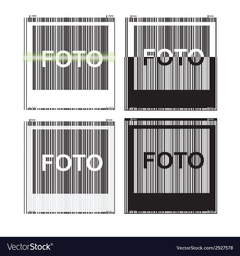 Picture view of the barcode vector | Price: 1 Credit (USD $1)