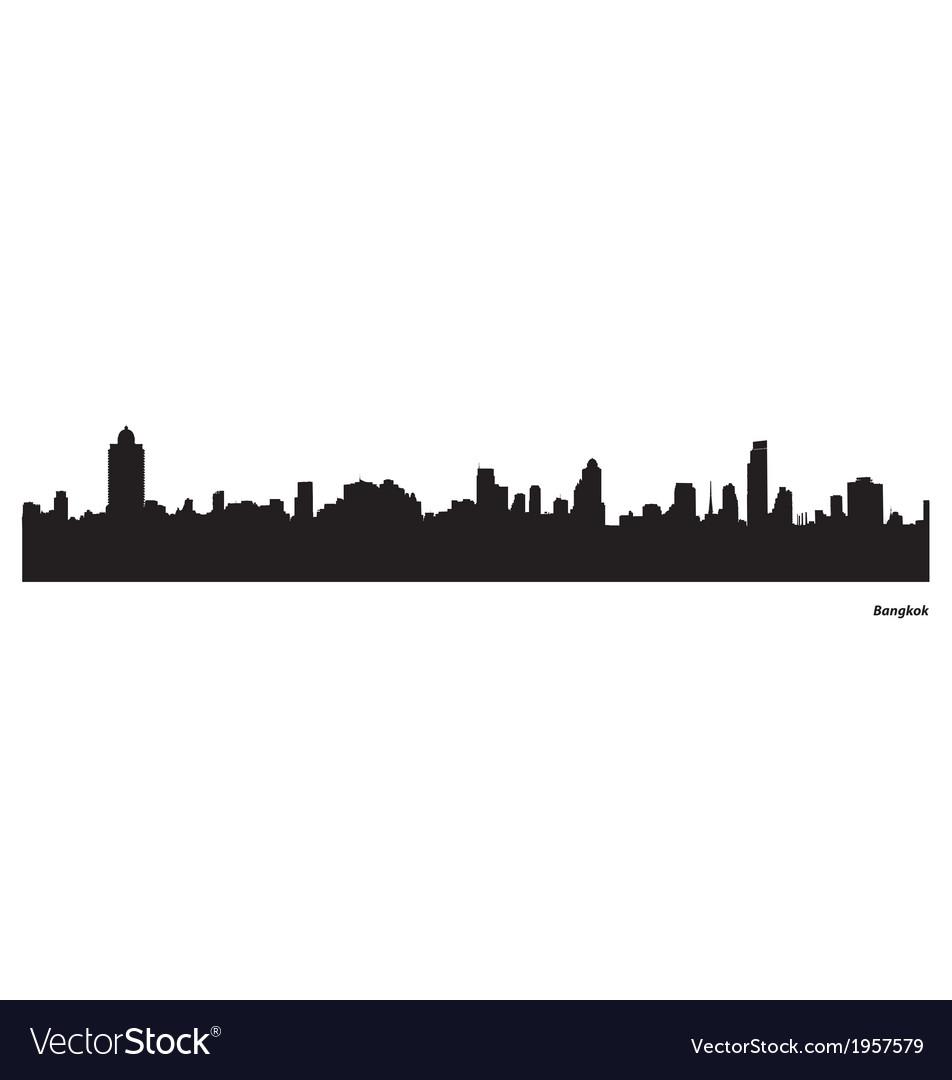 Bangkok skyline vector   Price: 1 Credit (USD $1)