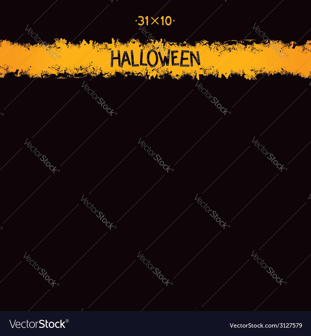 Halloween grunge template vector | Price: 1 Credit (USD $1)