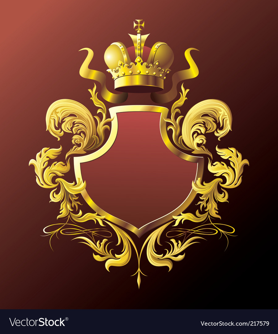 Heraldry shield vector | Price: 3 Credit (USD $3)