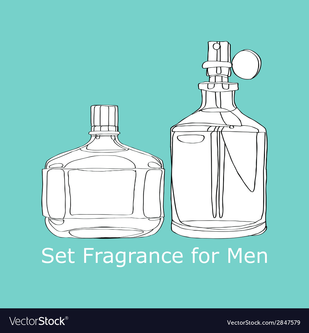 Set fragrance for men vector | Price: 1 Credit (USD $1)