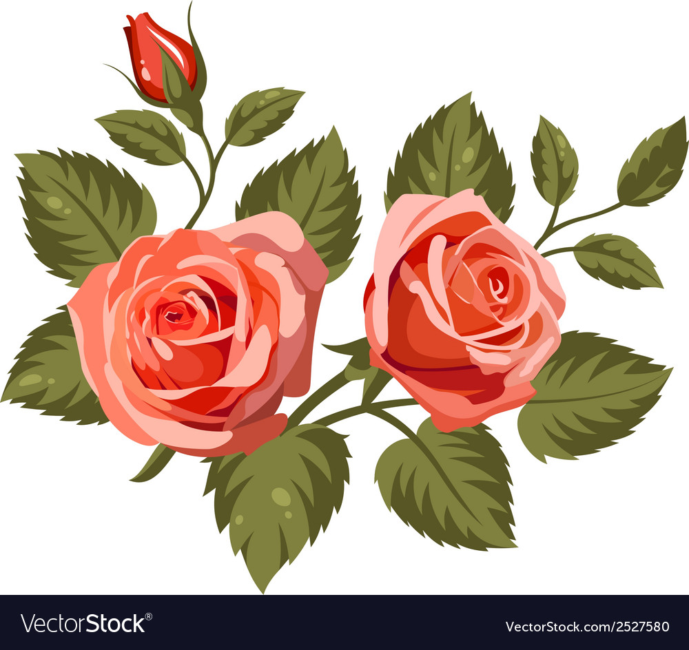 Flowers 2 vector | Price: 1 Credit (USD $1)