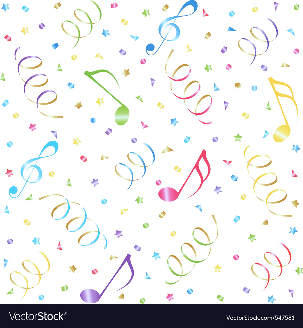 Music seamless background vector | Price: 1 Credit (USD $1)