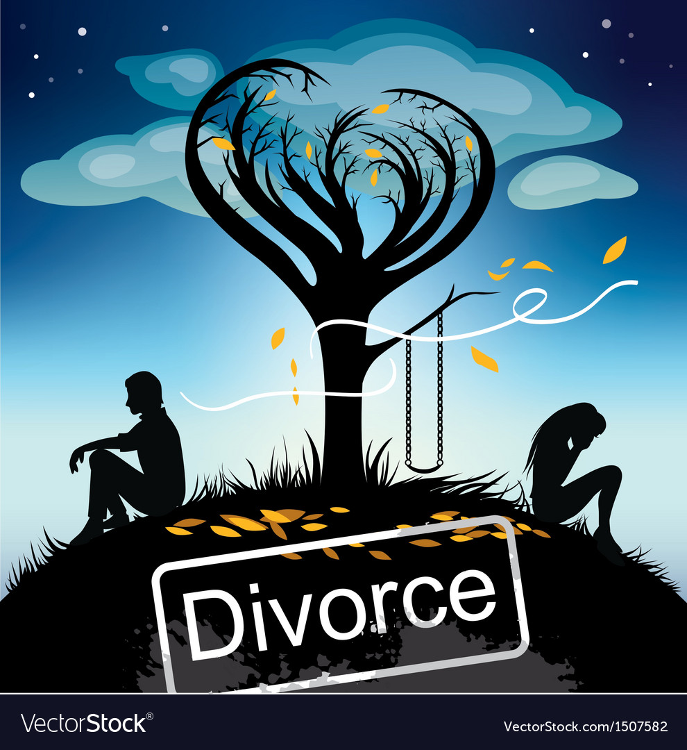 Divorce vector | Price: 3 Credit (USD $3)