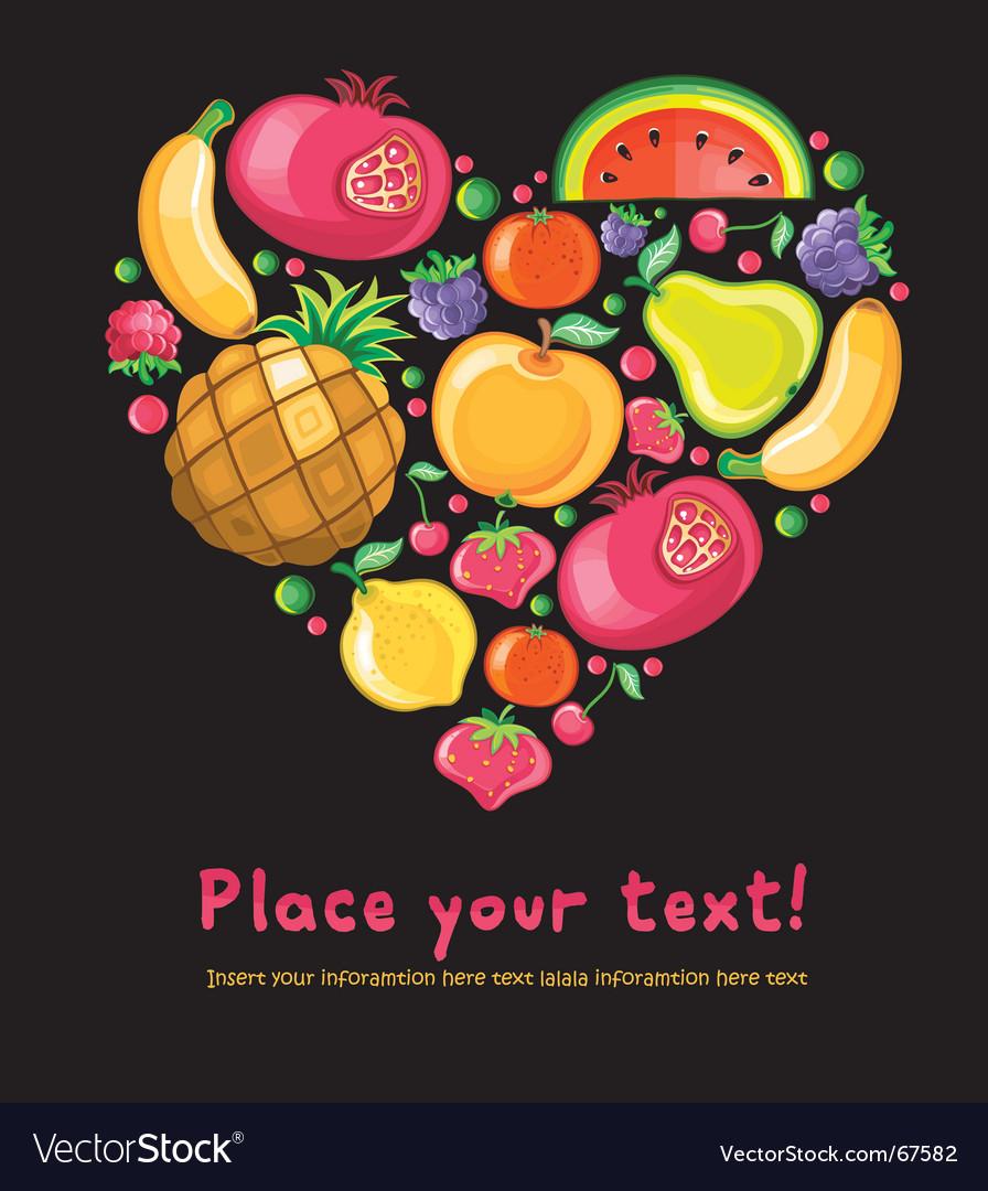 Fruit vector | Price: 3 Credit (USD $3)