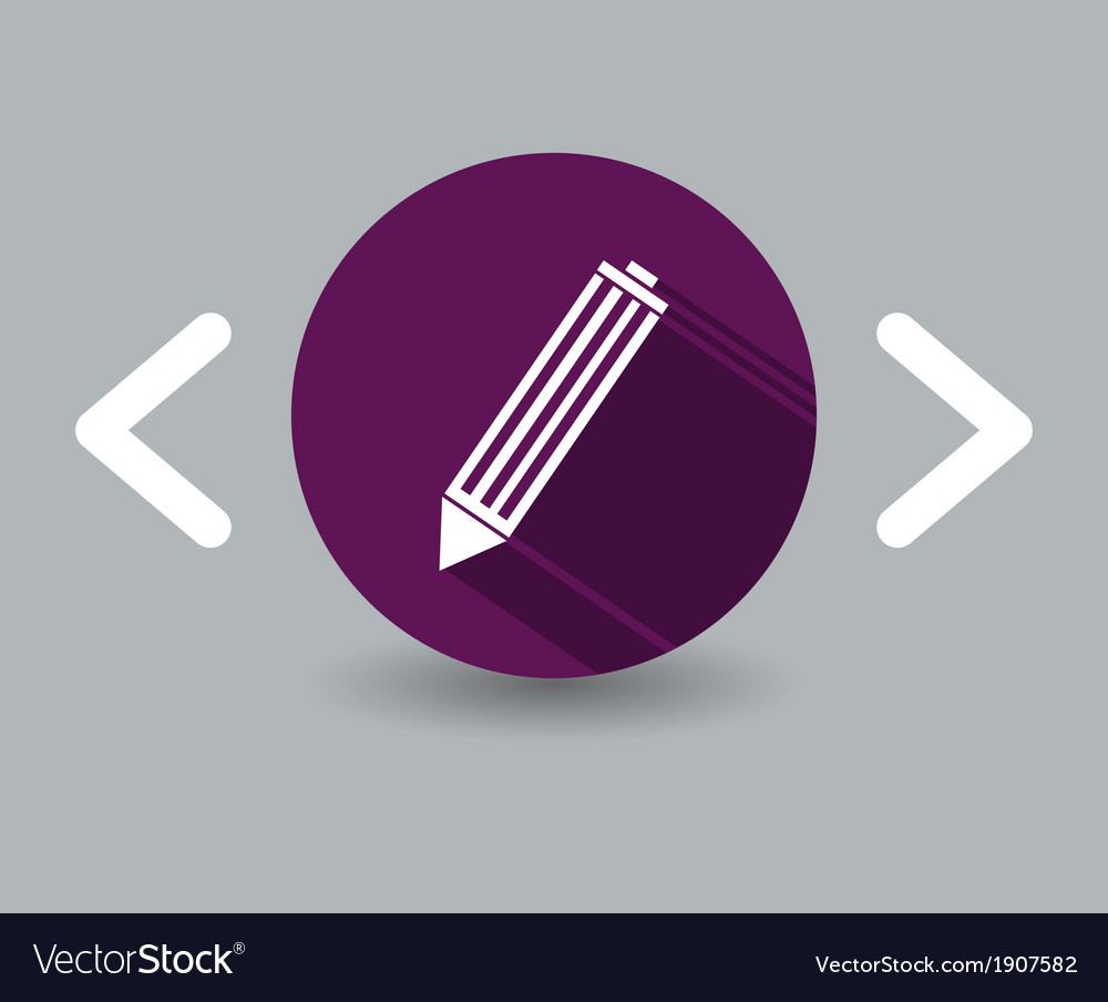 Pen icon vector | Price: 1 Credit (USD $1)