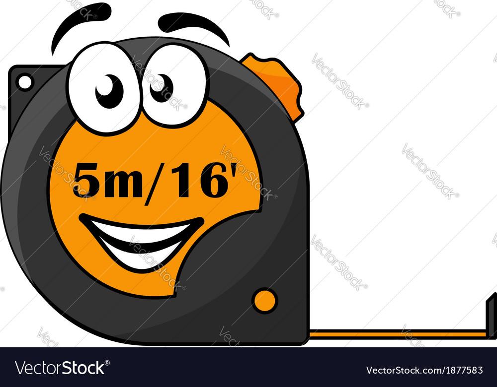 5 metre or 16 foot long tape measure vector | Price: 1 Credit (USD $1)