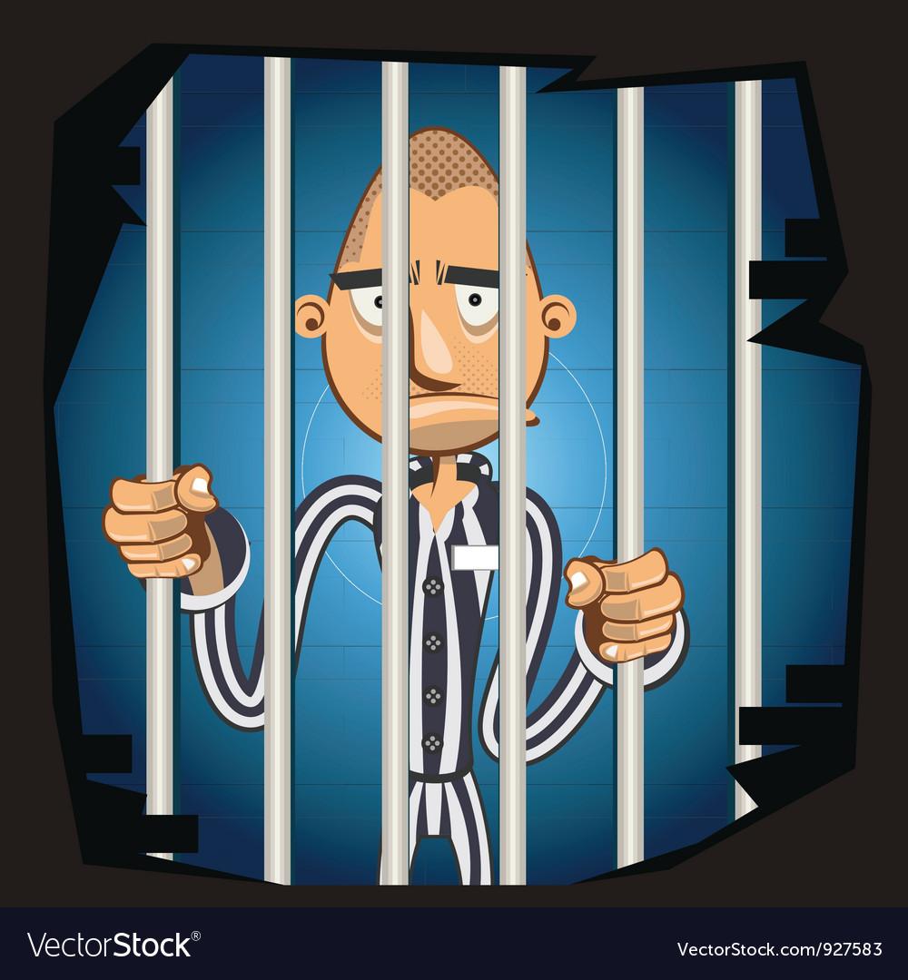 Prisoner in jail vector   Price: 3 Credit (USD $3)