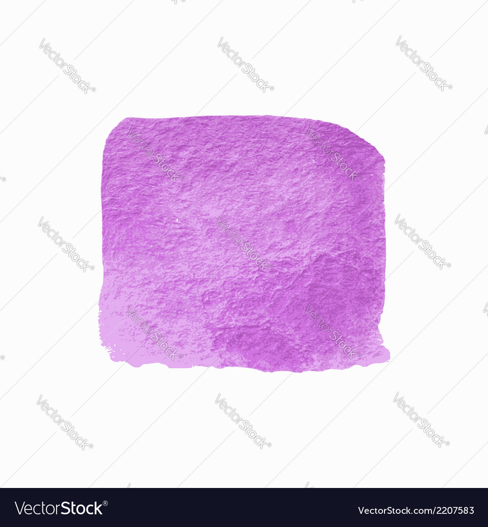 Violet square watercolor banner vector | Price: 1 Credit (USD $1)