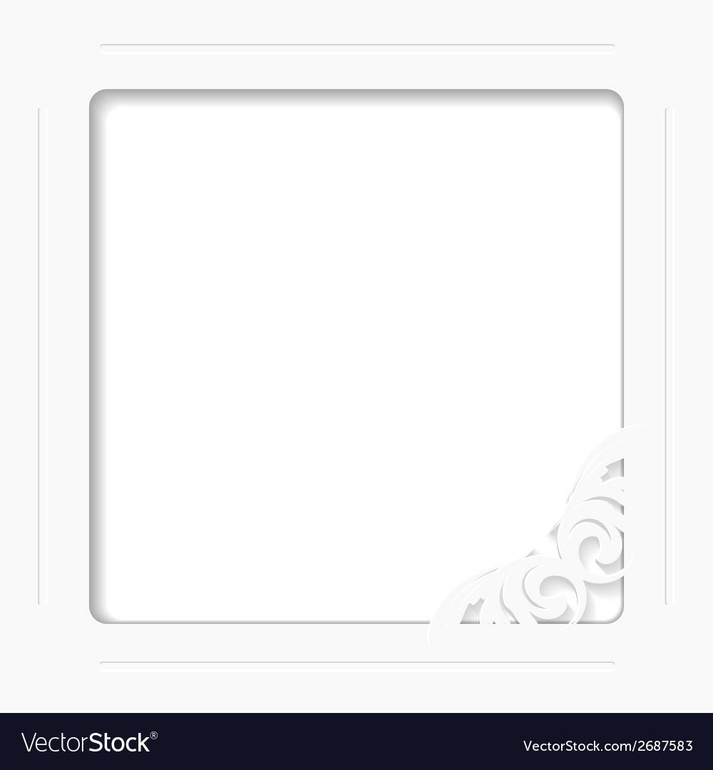 White frame vector   Price: 1 Credit (USD $1)