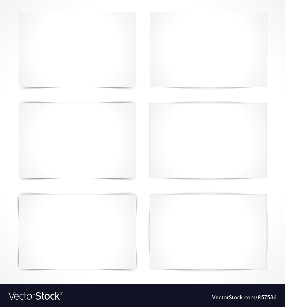 Blank paper sheets vector | Price: 1 Credit (USD $1)