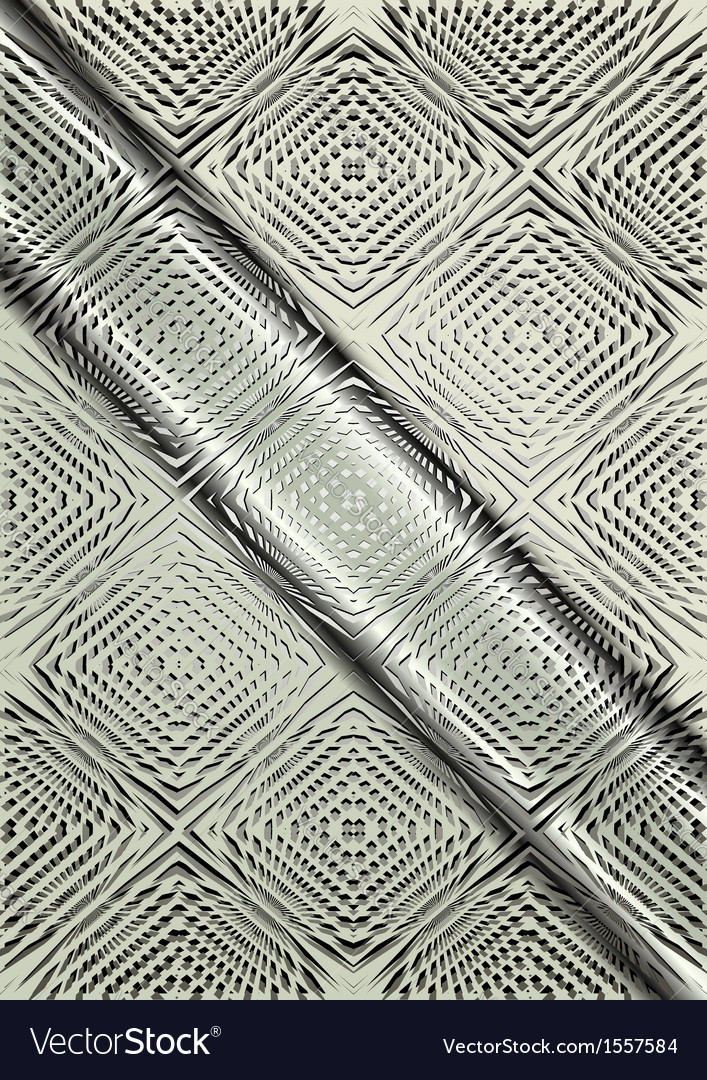 Light relief pattern on a satin steel background vector | Price: 1 Credit (USD $1)