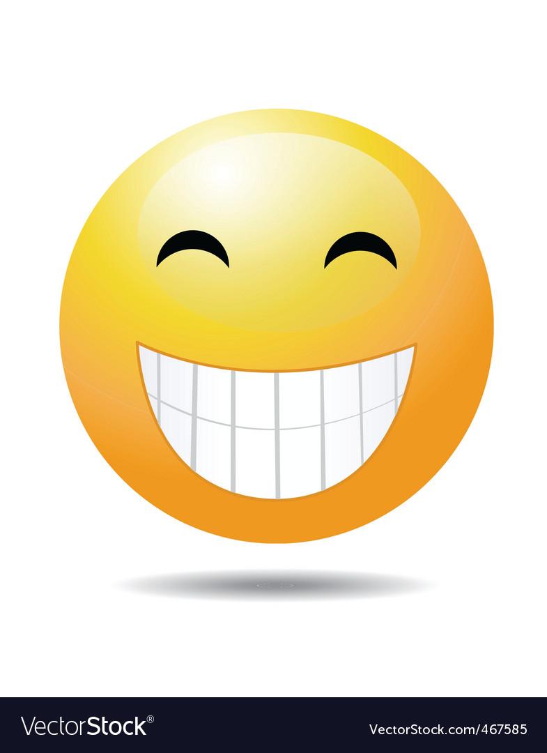 Cheesy grin vector   Price: 1 Credit (USD $1)