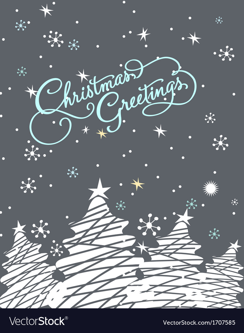 Starry season holyday vector | Price: 1 Credit (USD $1)