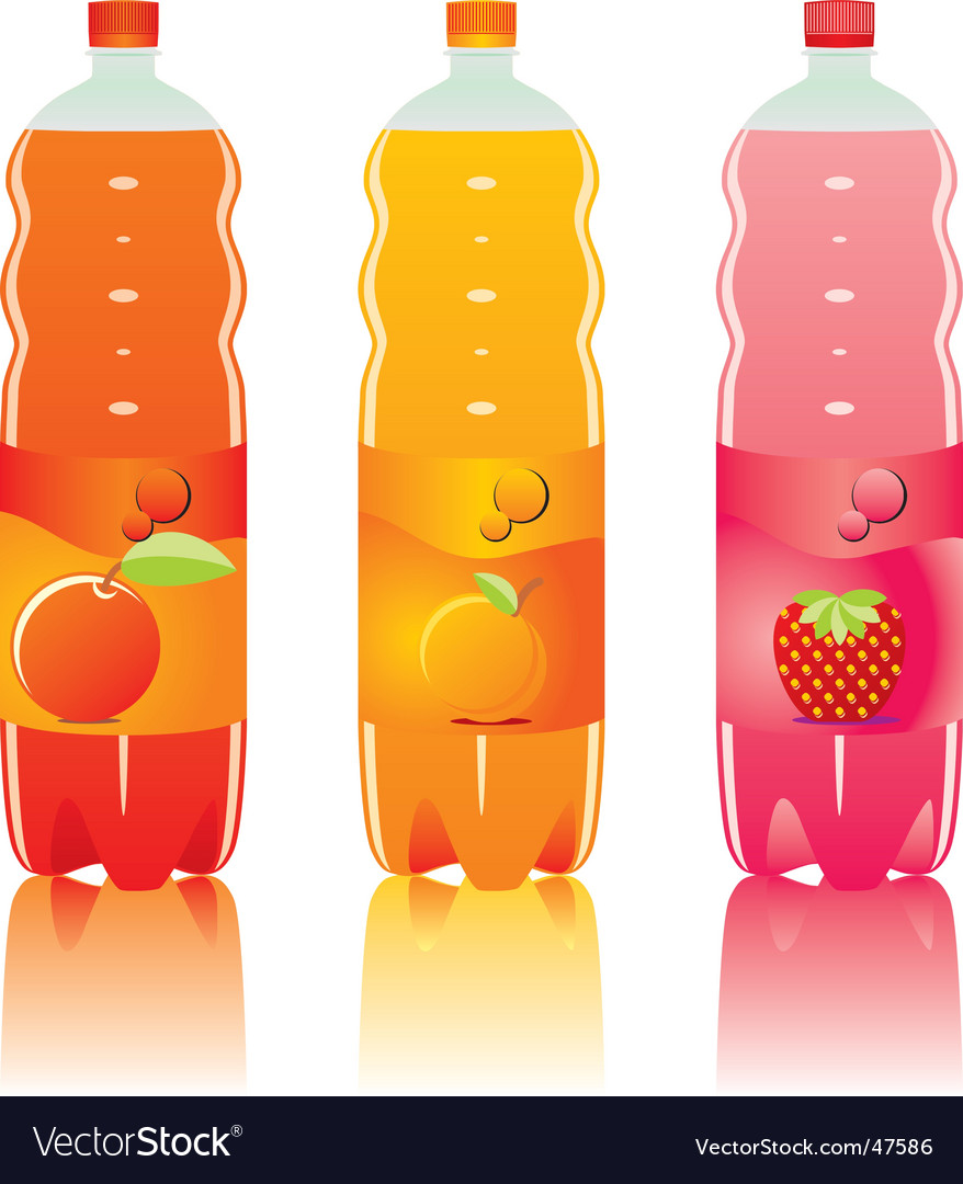 Drink bottles vector | Price: 1 Credit (USD $1)