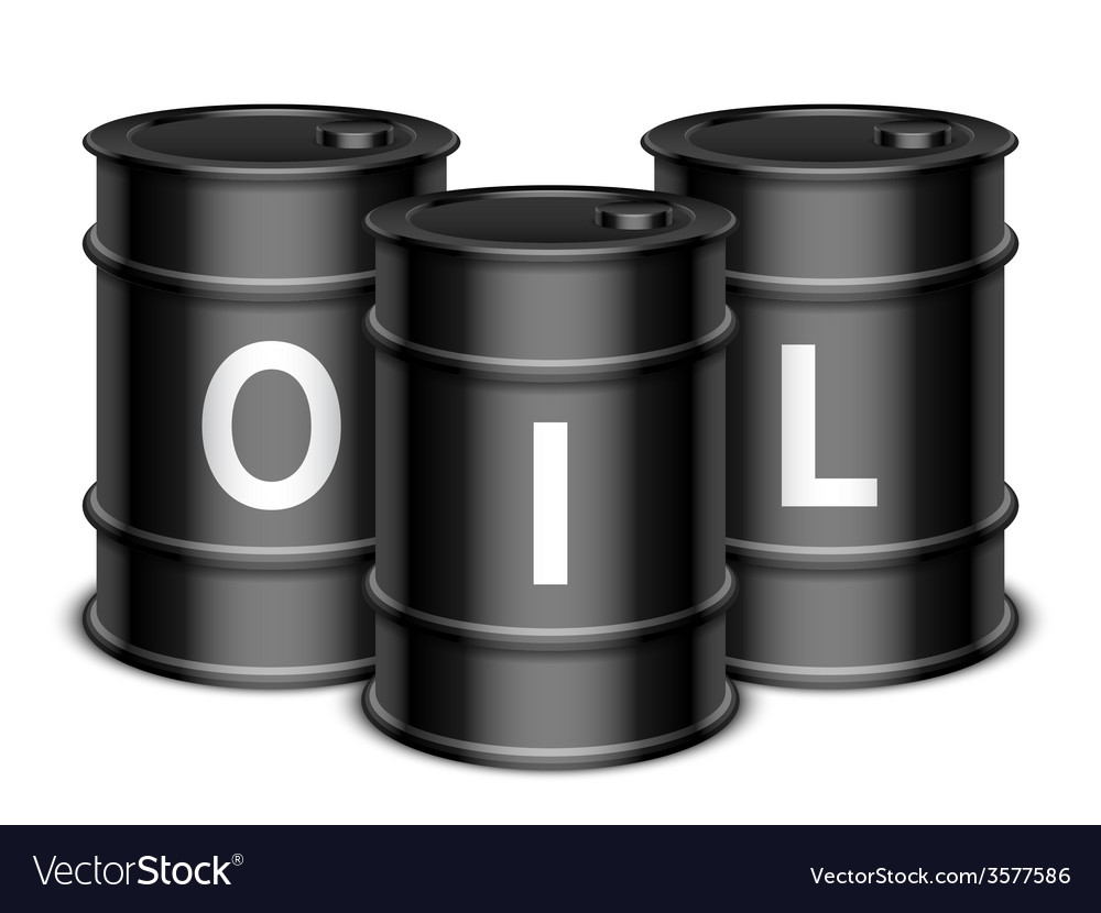 Oil barrels vector | Price: 1 Credit (USD $1)