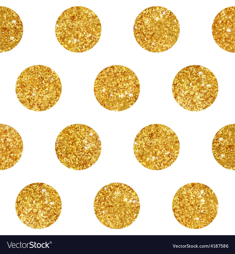 Vintage geometric glittery gold background vector